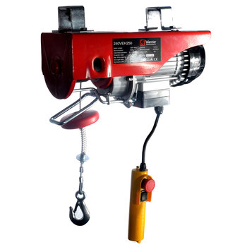Warrior 250kg 240V Electric Hoist - Model 240EH250
