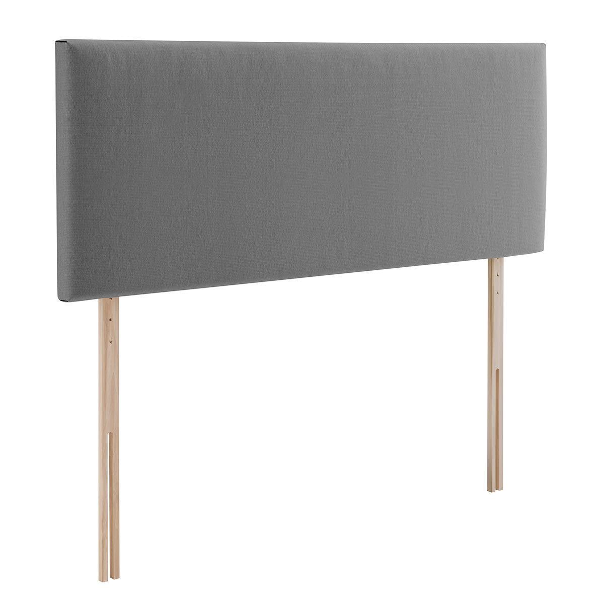Silentnight Bexley Grey Fabric Headboard Double Costco Uk