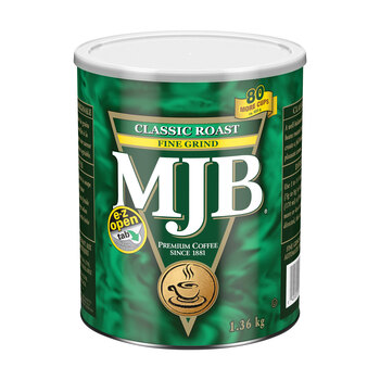 MJB Classic Roast Grind Coffee, 1.36kg