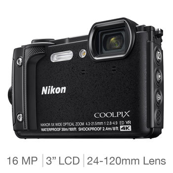 Nikon Coolpix W300 All-weather Camera in Black