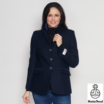 Harris Tweed Women's Blazer in 7 Colours and 8 Sizes