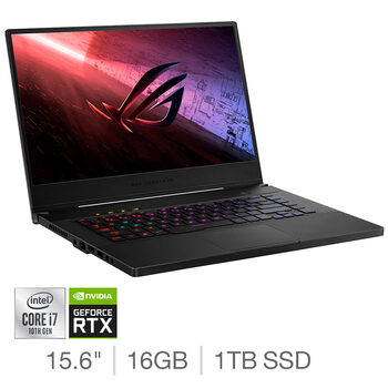Buy ASUS ROG Zephyrus M15, Intel Core i7, 16GB RAM, 1TB SSD, NVIDIA GeForce RTX 2070, 15.6 Inch Gaming Laptop, GU502LW-HC062T at costco.co.uk