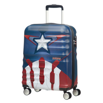 American Tourister Disney Captain America Hardside Spinner Cabin Case