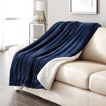 Ultimate Sherpa Throw in 8 Colours, 152 x 177 cm