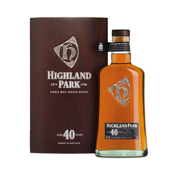 Highland Park 40 Year Old Single Malt Scotch Whisky, 70cl