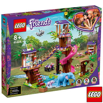 LEGO Friends Jungle Rescue Base - Model 41424 (8+ Years)