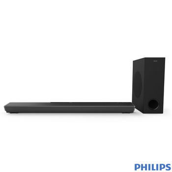 Philips TAPB603/10 3.1 Ch, 320W Soundbar and Wireless Subwoofer with Dolby Atmos