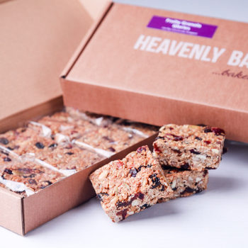 Heavenly Bakes Fruity Granola Glories, 20 x 70g