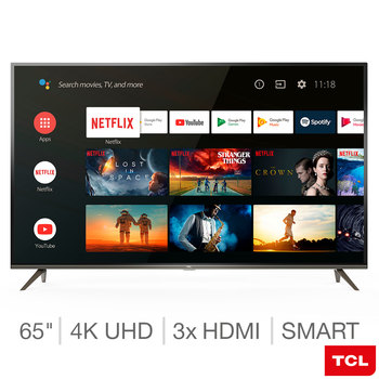 TCL 65EP658 65 Inch 4K Ultra HD Smart Android  TV