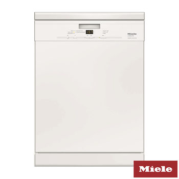Miele G4931SC, Freestanding Dishwasher in White