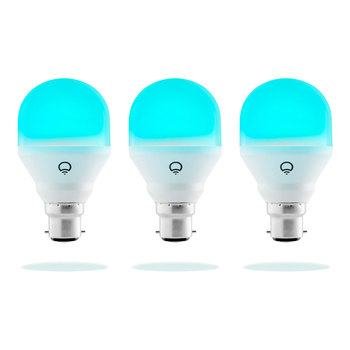 LIFX Mini Colour A60 B22 Smart Bulb 3 Pack