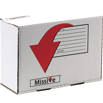 Fellowes Missive (35 x 25 x 16 cm) Value Mailing Boxes - Pack of 20