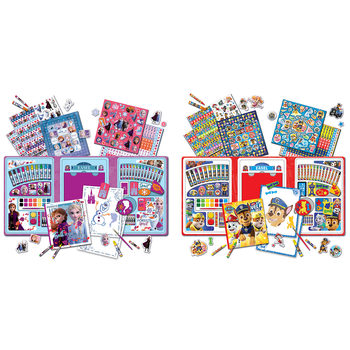 Disney Frozen II or Paw Patrol Super Activity Set With Tri-fold Easel Assortment (3+ Years)