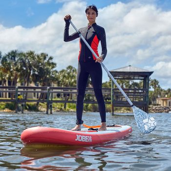 Jobe Yarra 10.6ft Inflatable Paddleboard with Paddle and Pump in Coral