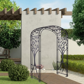 "Mercuries 2.3m (7ft 6"") Outdoor Decorative Steel Arch"