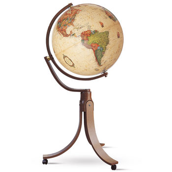 Emily Globe antique with floor stand