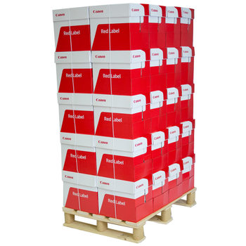 Canon Red Label Presentation A4 100gsm White Pallet of Paper - 120,000 Sheets