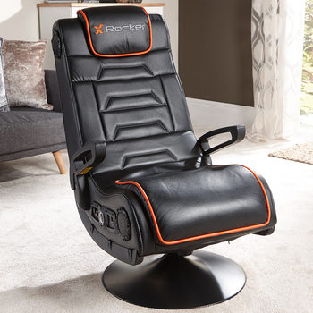 X Rocker Afterburner Gaming Chair With Wireless Connectivity & Bluetooth Audio