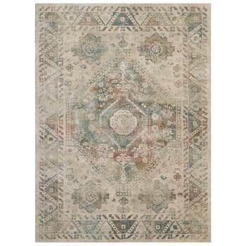 Fusion Distressed Persian Influenced Rug in 2 Sizes