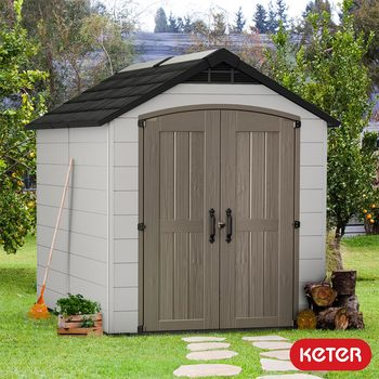 "Keter Montfort 7ft 6"" x 9ft 5"" (2.3 x 2.9m) Shed"