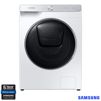 Samsung WW90T986DSH/S1, 9kg, 1400rpm, Washing Machine, A+++ Rating in White