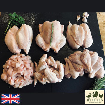 Herb Fed Free Range BBQ Chicken Box, 9kg