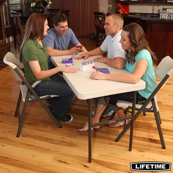 Lifetime 4ft Commercial Grade Folding Table