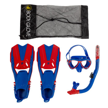 YOUTH SNORKEL SET BODY GLOVE        L24/P72