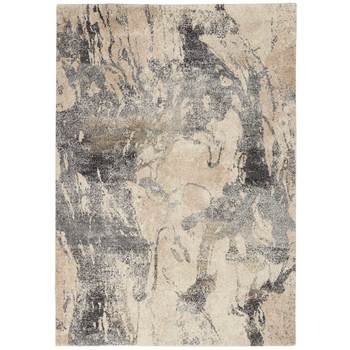 Fusion Cream Marbled Rug in 2 Sizes