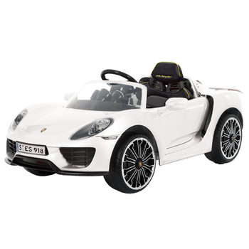 Rollplay Porsche 918 Spyder Hybrid 12V Children's Electric Ride On With Remote Control (3+ Years)
