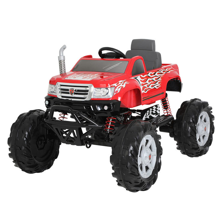 Rollplay Monster Truck Children S 24v Electric Ride On 4 Years