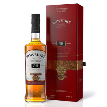 Bowmore 26 Year Old Matured Single Malt Scotch Whisky, Vintner's Trilogy - Part Two,  70cl