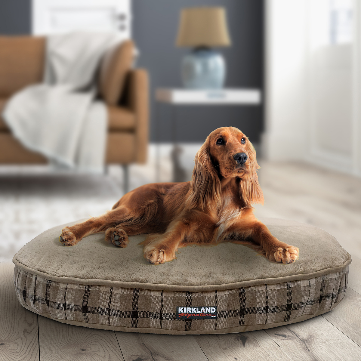 Kirkland Signature 42 Round Pet Bed In 6 Designs Costco Uk
