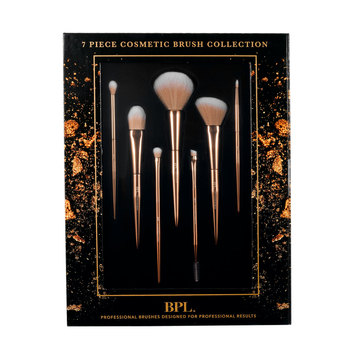 Limited Edition Beauty Professional Cosmetic Brush Set, 7 Pieces
