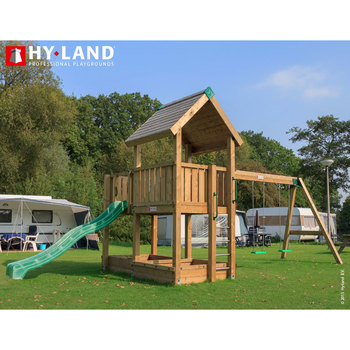 Hy-Land Project 3 Commercial Playcentre with Swing Module (3-12 Years)