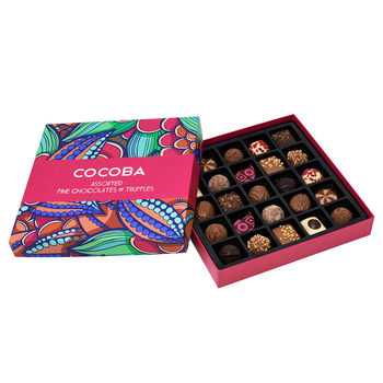 Cocoba 25 Assorted Chocolates & Truffles, 350g