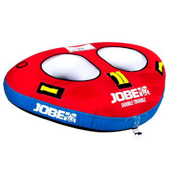 "Jobe Double Trouble 6ft 3"" (193cm) Inflatable 2 Person Towable"