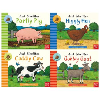 Axel Scheffler Farmyard Friends 4 Board Book Set (2+ Years)