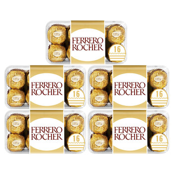 Ferrero Rocher Chocolate Gift Box, 5 x 200g