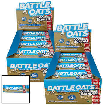 Battle Oats Protein Flapjack Bars, 24 x 70g in 6 Flavours
