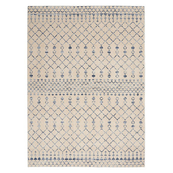 Palermo Beige Bohemian Rug in 2 Sizes