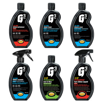 G3 Pro 6 Piece Car Cleaning Kit