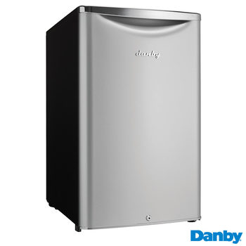 Danby DAR044KA1DDB, Undercounter Fridge, A+ Rated in Silver