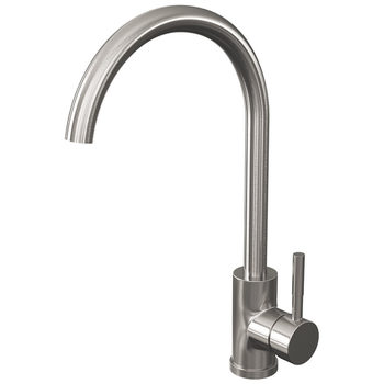 Reginox Clara C-Spout Single-Lever Mixer Tap in 2 Finishes
