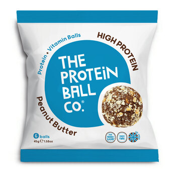 The Protein Ball Co. Peanut Butter, 20 x 45g