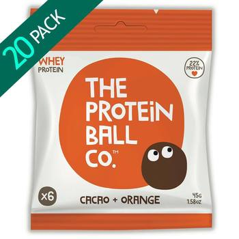 The Protein Ball Co. Cacao & Orange Protein Balls