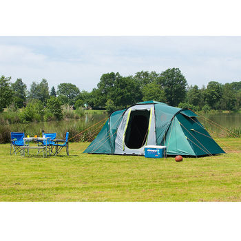 Coleman Spruce Falls 4 Family Tent with Blackout Bedrooms
