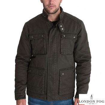 London Fog Stour Men's Jacket in Khaki