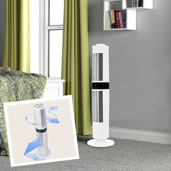 Dimplex Xpelair Skyscraper 360 Degree Rotating Tower Fan, XPSS