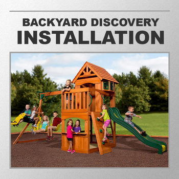 Installation Service for #285234 Backyard Discovery Atlantic Swing Set